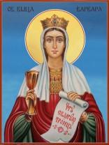 Икони на Света Варвара