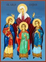 Икони на Св. Вяра, Надежда, Любов