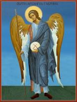 Икони на Свети Архангел Гавраил
