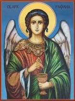 Икони на Свети Архангел Рафаил