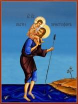 Икони на Свети Христофор