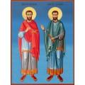 Икони на Св. св. безсребърници Козма и Дамян