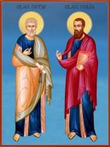 Икони на Свети Петър и Павел