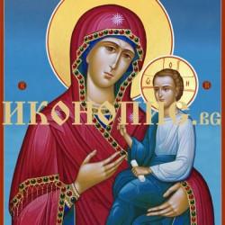 Икона на Света Богородица Скоропослушница   Ръчна изработка